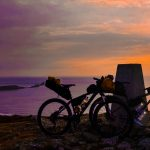 mountain bike packing adventure, wales
